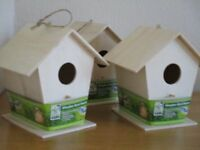 Brand new bird boxes / bird houses