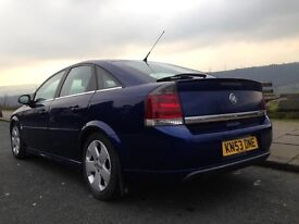 VAUXHALL VECTRA 2.2 DTI SRI DIESEL MODIFIED FULL HEATED LEATHER SEATS LOWERED LONG MOT