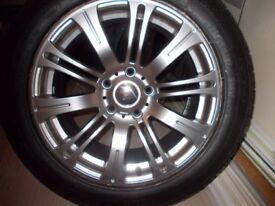 Brand New RIVA MRV Wheel, with New 225 55Z R17 Tyre