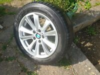 Original BMW 5 Series F10/F11 Style 236, 17 inch alloy wheel, excellent condition.
