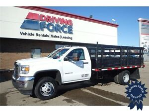 2015 GMC Sierra 3500HD WT - Dual Rear Wheels, All-Terrain Tires