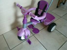 Little tykes trike with canopy