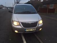 2007 CHRYSLER GRAND VOYAGER LIMITED XS CRD 7 SEATER MPV LEATHER P/SENSORS