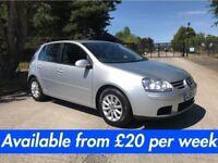 Volkswagen Golf (Leon Jetta Passat A3 308 Astra) £20 per week