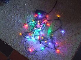 50 multifunction/multicolour led christmas lights