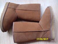 Chestnut Ugg boots uk5