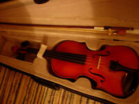 3/4 size violin -superb Otto Jos Klier (1997) West German craftsman-made instrument at bargain price
