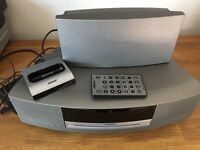 BOSE sound wave system with dab radio and I pod dock