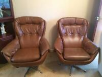 Winchester styled swivel Chairs - retro