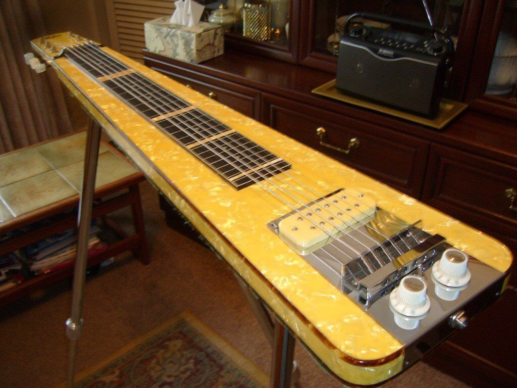 how to build a steel slide guitar