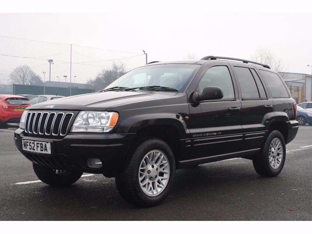 2002 jeep grand cherokee 2 7 crd limited station wagon 4x4 5dr automatic diesel 3 months. Black Bedroom Furniture Sets. Home Design Ideas