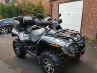 Quad bike Can am outlander max 800cc road legal