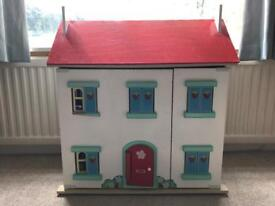 Strawberry cottage Le Toy Van - wooden dolls house