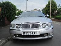 Rover 75 Connoisseur SE Tourer 1.8 automatic petrol.