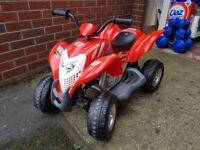 Red Honda ATV Children's Quad Bike, 6V Battery, Max weight 35kg, Speed 2-4 km/h, Size 858x508x623 mm