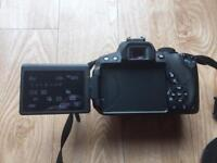 Canon 700d twin lens with extras