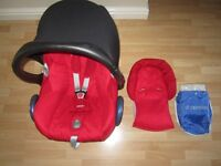 Maxi-Cosi Cabriofix Baby Car Seat with Rain cover