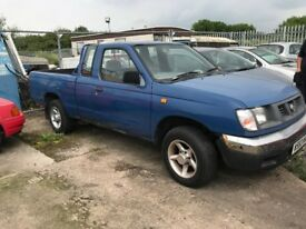 2000 NISSAN D22 2.5D 4X2 KING CAB PICK-UP