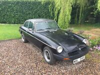 Excellent example of a British classic MGB GT