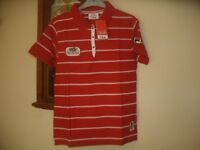 BNWT Fila 'The Artois Championships' Red Polo Shirt Size Large L Large