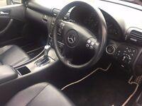 2007 Mercedes Benz C220 ** Automatic **Panaromic Roof*Full Main Dealer Ser Hist*Leather Int*2 Keys*