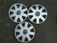 Ford focus 16 inch wheel trims