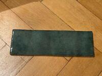 Metro Tiles - Moss Green 6.5cm X 20cm