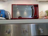 russel hobb microwave red
