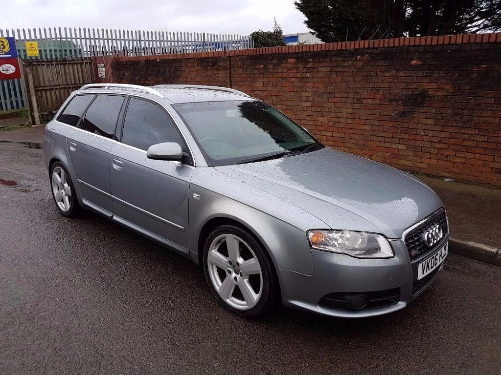 2006 06 audi a4 b7 2 0 tdi diesel s line turbo manual estate avant 140 6 speed in newport road. Black Bedroom Furniture Sets. Home Design Ideas