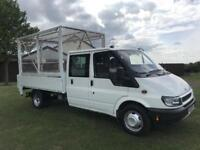 Transit double cab tipper/taillift