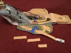 Fold out 'Rally Extreme' race track