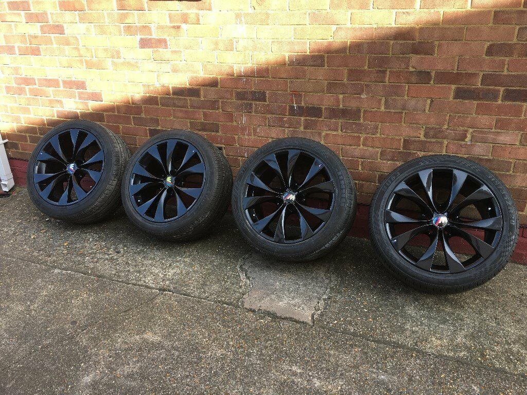 Genuine Bmw X5 M Sport 20 Inch Wheels Alloys X6 X3 E53