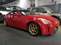 BREAKING NISSAN 350Z COUPE 3.5 V6 GT MANUAL 2006 RED