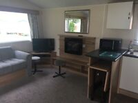 Static caravan 3 bedrooms central heating no pets bar play park lot of nice walks