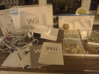 Will console ,games and accessories,excellent condition