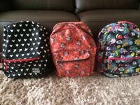 MINNIE MOUSE & MY LITTLE PONY BACKPACKS