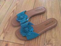 Six Pairs of Ladies Sandals Size 5