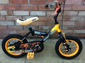 Child's bike - Action Man special forces