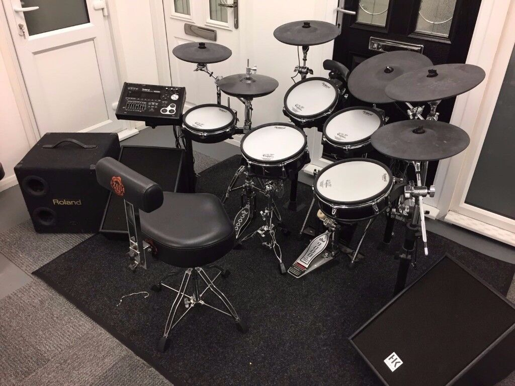 Roland Td30k Electronic Drum Kit Upgrades And Extras