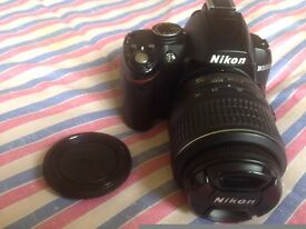 Nikon D3000 DSLR camera - Very complete kit - Ready for immediate use