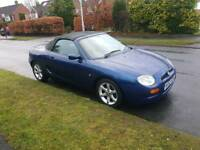 2003 MGF/ MG ROVER 1.8 STEPSPEED AUTOMATIC CONVERTIBLE