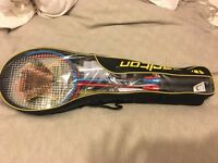 Badminton set for 4 players as new
