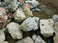 Rocks varous size and shape