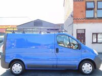 Finance Available!! No Vat!! Vauxhall Vivaro 2003 Swb with Full Mot and Rhino roof rack!! (17)