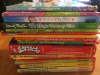 Captain Underpants and The magic faraway Tree, Charlie & Chocolate Factory & others £20