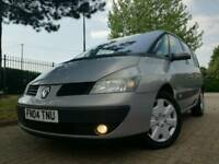 2004/04 RENAULT ESPACE EXPRESSION 2.2 DCI 7 SEATER IMMACULATE FULL HISTORY MOT sharan zafira galaxy