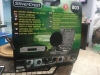 Silver crest camping satellite