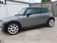 MINI COOPER S ***NEW MOT***HPI CLEAR***NEW CLUTCH***SERVICE***ONLY 90000 MILES***2 KEYS***