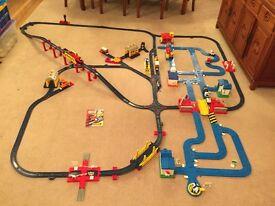 Thomas the Tank Engine Train set and Car Track - Tomy