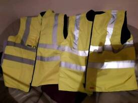 TWO HI VIZ WARMER ,BRAND NEW !!!